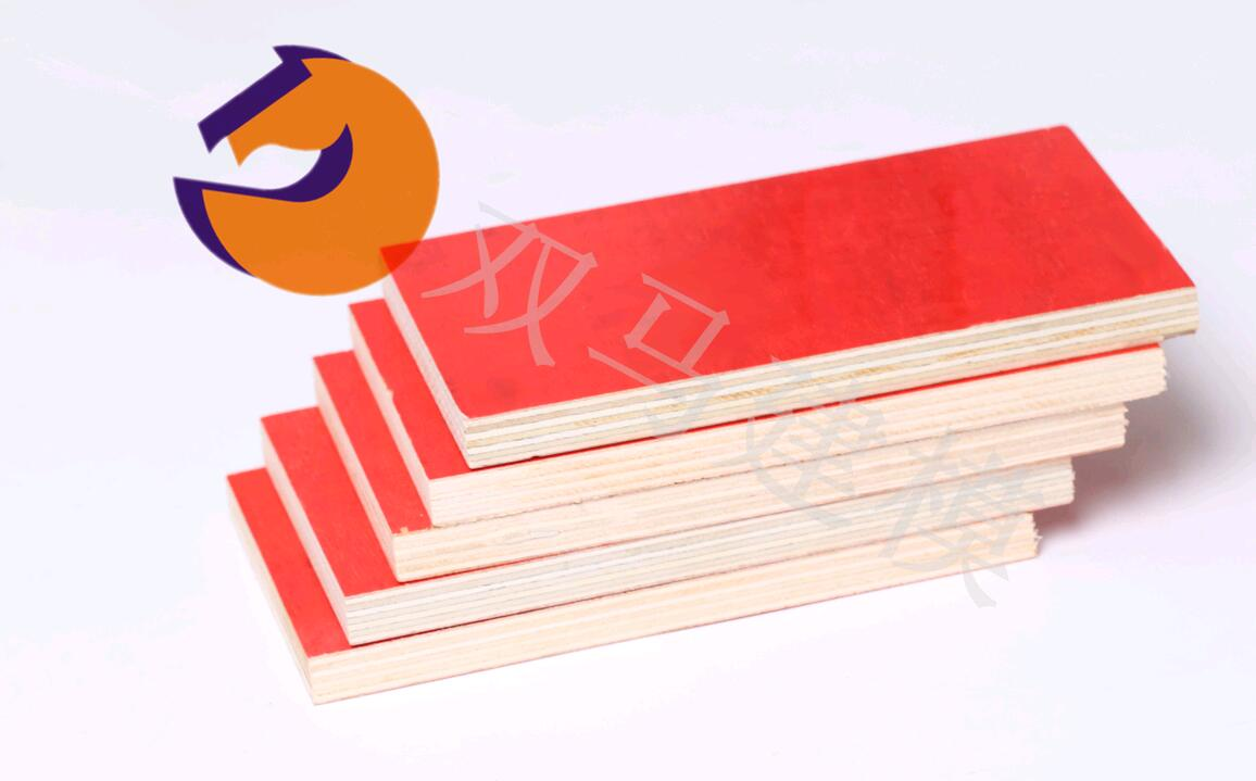 用于别墅、普通楼房建筑专用三胺胶建筑红模板
